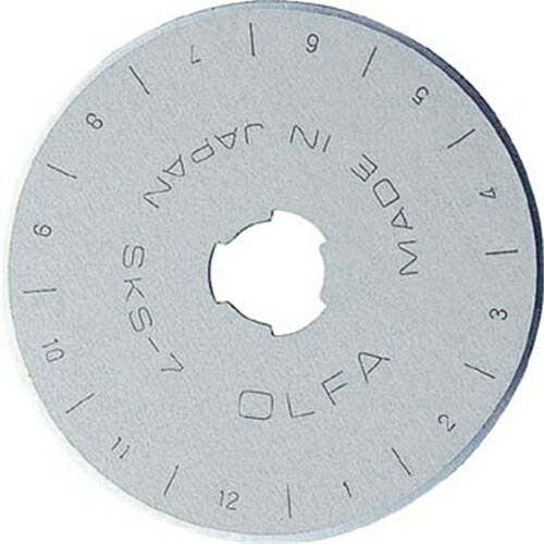 OLFA オルファ 円形刃45ミリ替刃 10枚入 ブリスター RB45-10 (C-C45-10)