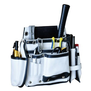 DBLTACT 本革釘袋 卓越モデル ホワイト DTL-99-WH