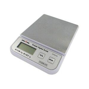 グレートツール 簡易デジタルはかり 最大5kg GTDS-05K