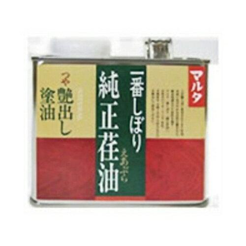 大田油脂 マルタ 一番しぼり「純正荏油」500g 500g