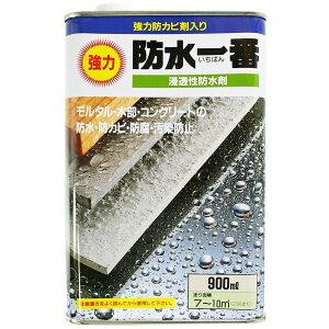 日本特殊塗料 防水一番・浸透性防水材 【900ml】