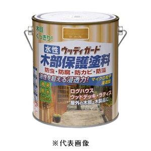 ニッペホームプロダクツ 水性ウッディガード(オーク) 【1.6L(1600ml)】
