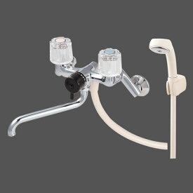 三栄水栓 SANEI ツーバルブシャワ混合栓《混合栓/壁付ツーバルブ》(バスルーム用) [CSK111-13]