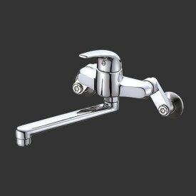 三栄水栓 SANEI シングル混合栓《混合栓/壁付シングルレバー式》(キッチン用) [K1711-13]