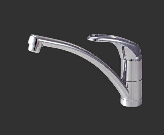 三栄水栓 SANEI シングルワンホール混合栓《混合栓/ワンホールシングルレバー式》(キッチン用) [K876TJV-13]