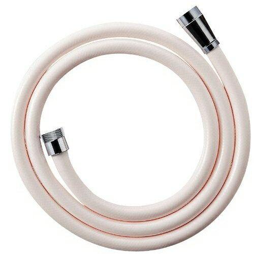 SANEI 三栄水栓 シャワーホース(バスルーム用) ホワイト 1.6m PS30-86TXA-W