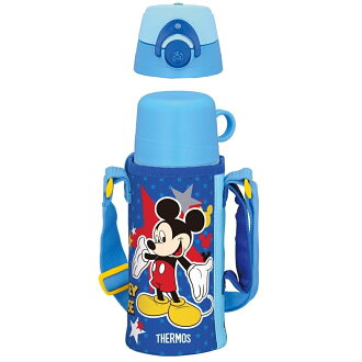 Thermos vacuum insulated 2 ウェイボトル dark blue FFG-600WFDS DB