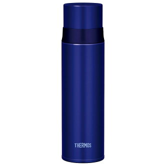 thermos stainless steel slim bottle FFM-500 BL blue