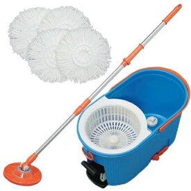 アイリスオーヤマ 回転モップ 業務用大型タイプ 洗浄機能付き KMO-540S