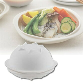 KINTO mus steam pot Petite white