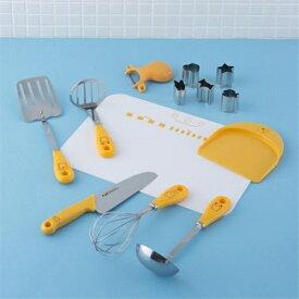 貝印 リトルシェフクラブ 子供調理器8点セット (家庭用品) FG-5009
