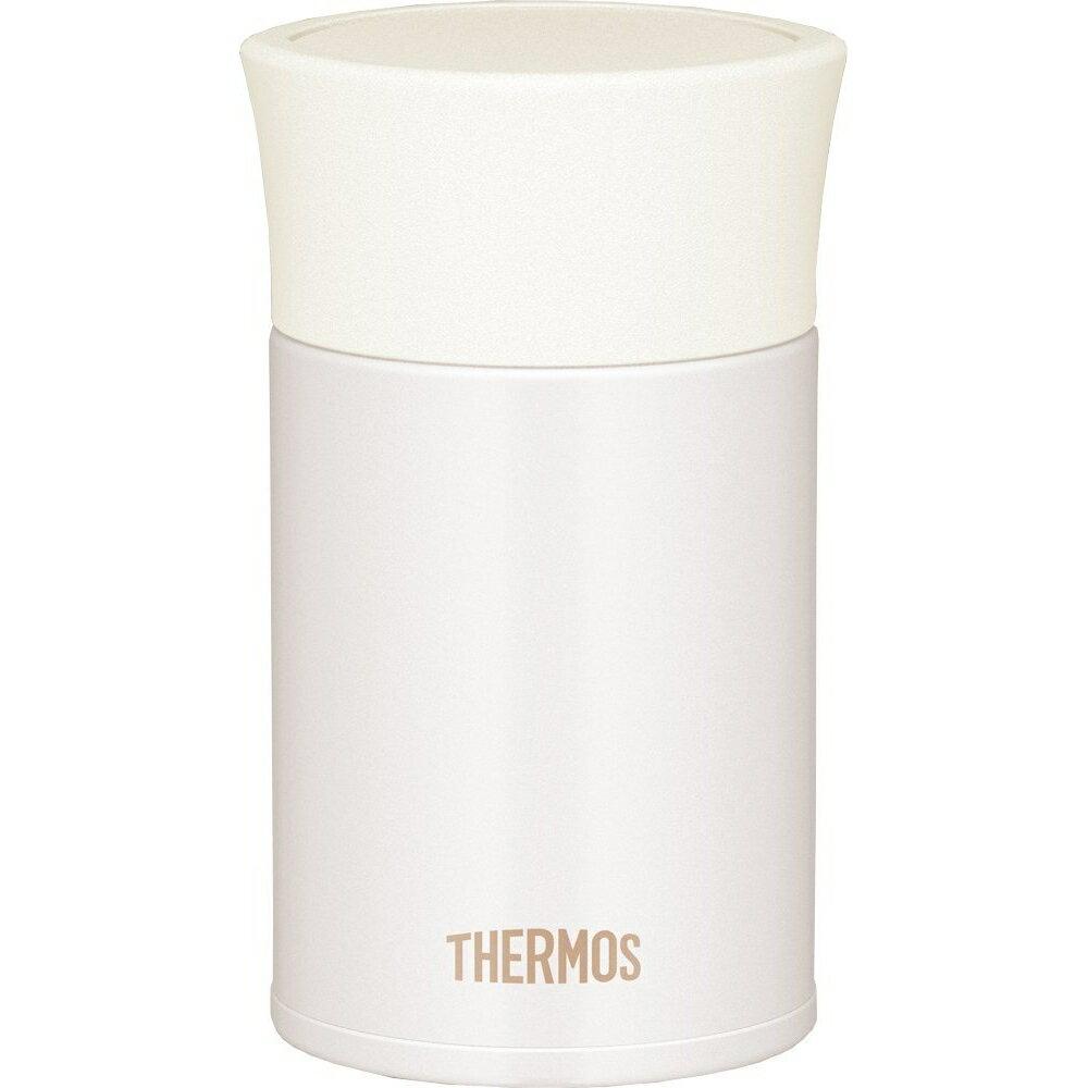 THERMOS サーモス 【ランチジャー フードコンテナー フードジャー スープジャー おかず容器】真空断熱フードコンテナーミルクホワイト JBK-251 MWH-MWH /ミルクホワイト