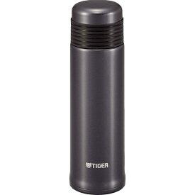 タイガーTIGER 【保温・保冷】ステンレスボトルサハラスリム(400ml/0.4L) [MSE-A040-KM/メタリックブラック]
