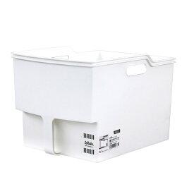 不動技研 吊り戸棚 収納 ボックス 白 ワイド F40001 F40001