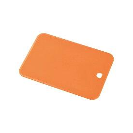 下村工業 キッチンアラモード ソフトまな板ミニ オレンジ KSM-01O