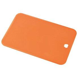 下村工業 キッチンアラモード ソフトまな板 オレンジ KMM-01O