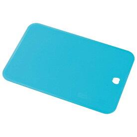 下村工業 キッチンアラモード ソフトまな板 ブルー KMM-01B