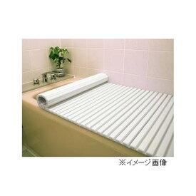 東プレ シャッター風呂ふた 【80×160cm用】 W16 WH(ホワイト)