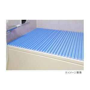 東プレ カラーウェーブ(風呂ふた) 【75×140cm用】 L14 ブルー