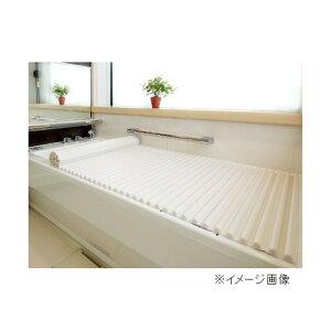 東プレ イージーウェーブネオ(風呂ふた) 【75×160cm用】 L16 WH(ホワイト)