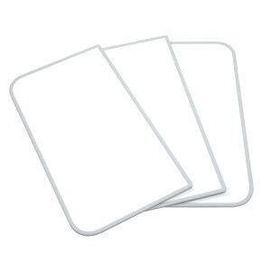 東プレ センセーション(組み合わせ風呂ふた) 【75×110cm用】(3枚割) ホワイト/ホワイト L11
