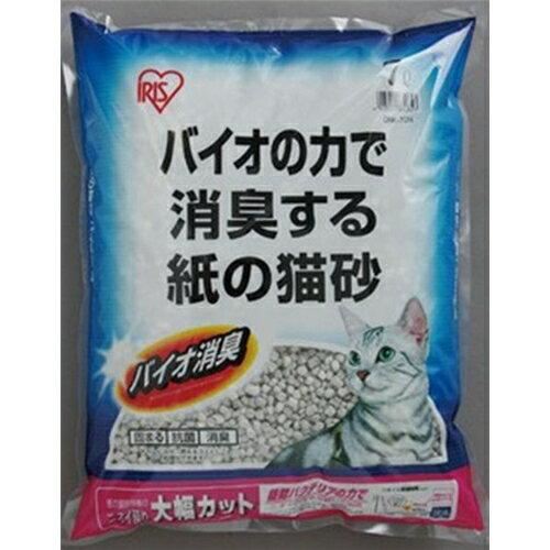 アイリスオーヤマ バイオの力で消臭する紙の猫砂(ネコ砂) 7L ONK-70N