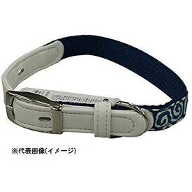 リードッグ 唐草ピンバックルカラー M ブルー KRPC-M/BL