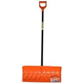【雪かき・除雪】グリーンパル ニラサワ エンボス ワイドラッセル 650 (ハンドラッセル) オレンジ