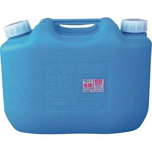 コダマ樹脂工業 灯油缶 (ポリ缶) (ポリタンク) 10L 青 ノズルなし 【JIS規格品】 【K5】