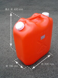【1回の注文につき4個まで】コダマ樹脂工業 灯油缶 (ポリ缶) (ポリタンク) 18L 赤 ノズルなし 【JIS規格品】【K4】