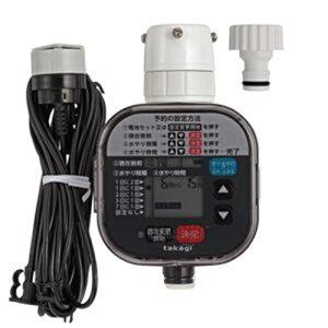 タカギ かんたん水やりタイマー 雨センサー付 (簡単水やりシステム)(散水用品) GTA211