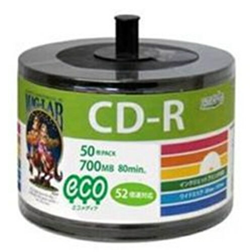 HI-DISC CD-R50P スタッキングバルク HDCR80GP50SB2