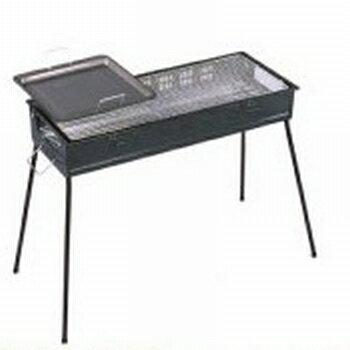 グリーンライフ BBQコンロ バーベキューコンロ 65cm 鉄板付き CBN-650 (5-7人用)