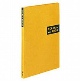コクヨ スクラップブックSスパイラルとじ・固定式A4クラフト40枚黄 ラー410Y