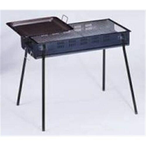 グリーンライフ BBQコンロ バーベキューコンロ 80cm 鉄板付き CBN-800 (8-10人用)