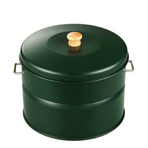 HONMA ホンマ製作所 キッチン スモークキュート(スモーカー・燻製・くん製) IH-240P グリーン 12538PG
