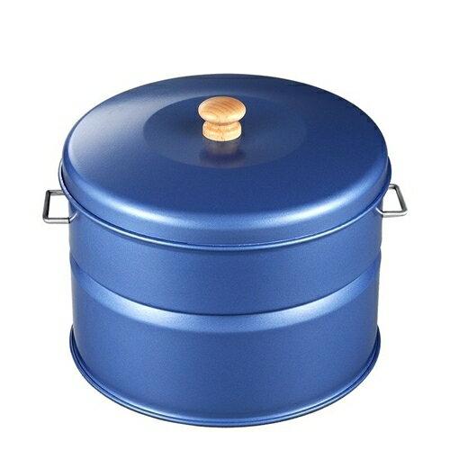 HONMA ホンマ製作所 キッチン スモークキュート(スモーカー・燻製・くん製) IH-240P ブルー 12538PK