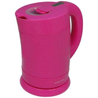 DRI tech electric kettle bamboo PO-111 pink