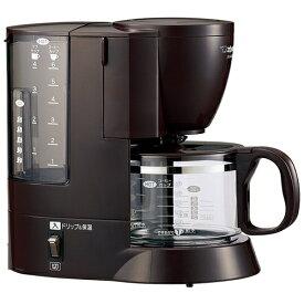 象印 コーヒーメーカー 珈琲通(6杯分用) EC-AK60-TD(ダークブラウン)