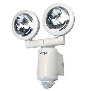 ライテックス 乾電池式 1.3W×2 LEDセンサーライト LED-220