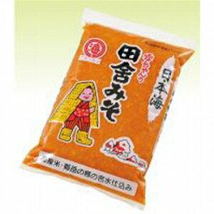 日本海味噌 田舎みそ パック 容量:1kg