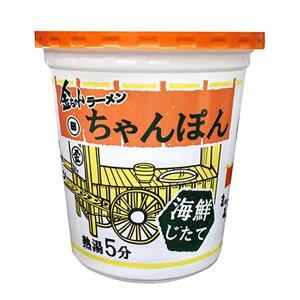 【ケース販売】徳島製粉 金ちゃんラーメンカップちゃんぽん (76g×12個) (4904760010650×12)
