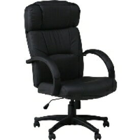 不二貿易 プレジデントチェアー W-99 ブラック 椅子 W-99