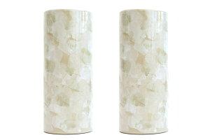 花立 墓 お墓 花立て 仏具 陶器 花瓶 2本組 セット 投入 レンガ色 9寸 サイズ 約(cm) 高さ27