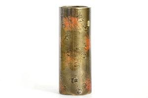 花立 墓 お墓 花立て 仏具 陶器 花瓶 単品 投入 尺 錦 サイズ 約(cm) 高さ30