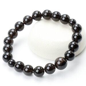 数珠 ブレスレット 腕輪 京都宝珠 茶 水晶 10mm パワーストーン 念珠