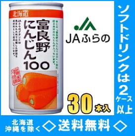 JA 富良野(ふらの) にんじん100 190g缶 30本入【RCP】【HLS_DU】