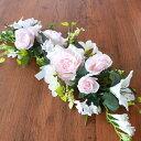 造花 バラやユリのウェディングスワッグ シルクフラワー ウエディング ブライダル CT触媒
