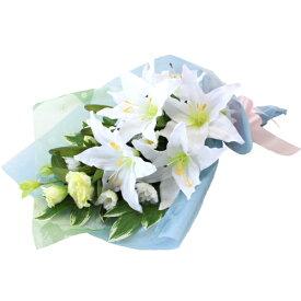 造花 仏花 カサブランカやトルコキキョウの花束 CT触媒 造花 シルクフラワー お彼岸 お盆 お仏壇 仏花 お墓 花 お供え
