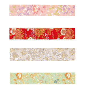 東京リボン 京金襴 40mm×4.8m リボン ギフト ラッピング用品 花束 アレンジメント 生花 造花 装飾